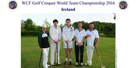 CAI Team in World Golf Team Championships 2016